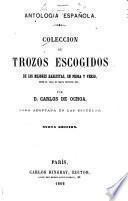 Colección de trozos escogidos de los mejores hablistas, en prosa y verso, desde el siglo XV hasta nuestros días