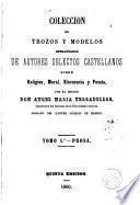 Colección de trozos y modelos de Literatura española, 1-2