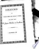 Colección de varias obras en prosa y verso del Excmo. Señor D. Gaspar Melchor de Jovellanos: (1831. 442 p.)