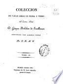 Colección de varias obras en prosa y verso del Excmo. Señor D. Gaspar Melchor de Jovellanos