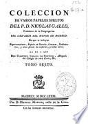 Coleccion de varios papeles sueltos del P.D. Nicolas Gallo ...