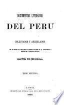Coleccion dedocumentos literarios del peru