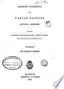 Colección diplomática de varios papeles antiguos y modernos sobre dispensas matrimoniales y otros puntos de disciplina eclesia?stica