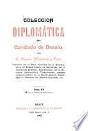 Colección diplomática del condado de Besalú