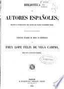 Coleccion escogida de obras no dramáticas de frey Lope Félix de Vega Carpio