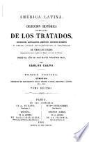 Colección histórica completa de los tratados: 1791
