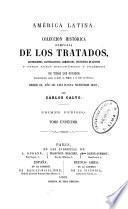 Coleccion histórica completa de los tratados