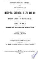 Colección legislativa completa de la República Mexicana