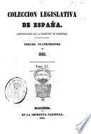 COLECCION LEGISLATIVA DE ESPANA CONSTITUTION DE LA COLLECTIONI DE DECRETOS
