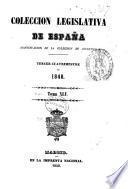 coleccion legislativa de espana