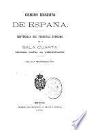 Coleccion legislativa de España