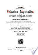 Colección legislativa de la República Oriental del Uruguay