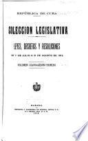Colección legislativa