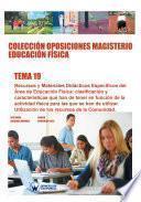 Colección Oposiciones Magisterio Educación Física. Tema 19
