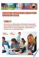 Colección Oposiciones Magisterio Educación Física. Tema 21