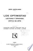 Colección póstuma: Los optimistas. Lecturas y opiniones, crítica de arte