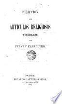 Coleción de artículos religiosos y morales