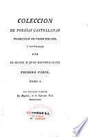 Colecion de poesias castellanas