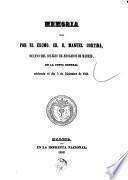 Colegio de Abogados de Madrid memoria leída en la Junta General celebrada el... por D.Manuel Cortina