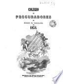Colegio de Procuradores de Número de Barcelona en 1854