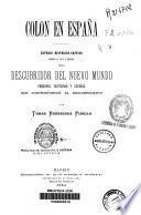 Colón en España