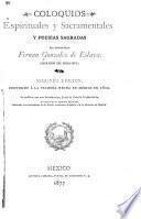 Coloquios espirituales y sacramentales y poesías sagradas