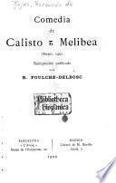 Comedía de Calisto et Melibea (Burgos, 1499)