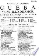 Comedia famosa: Cueba y castillo de amor