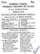 Comedia famosa, Federico Segundo en Glatz, ó la humanidad