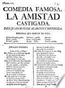 Comedia Famosa, La Amistad Castigada