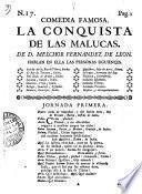 Comedia Famosa. La Conquista De Las Mulacas