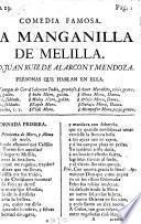 Comedia Famosa. La Manganilla De Melilla