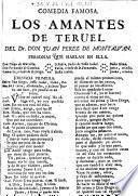 Comedia famosa: Los Amantes de Teruel