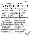 Comedia famosa: Roberto el Diablo