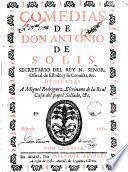 Comedias de Antonio de Solis