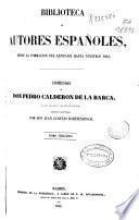Comedias de Calderón de la Barca