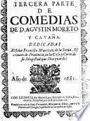 Comedias de Dom Moreto