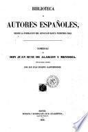 Comedias de don Juan Ruiz de Alarcon y Mendoza. Coleccion hecha é ilustrada por Don Juan Eugenio Hartzenbusch