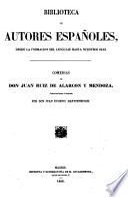 Comedias de Don Juan Ruiz de Alarcon y Mendoza