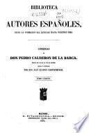 Comedias de Don Pedro Calderón de la Barca: (734 p.)