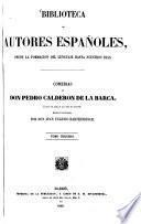 Comedias de Don Pedro Calderon de La Barca0