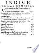 Comedias de Pedro Calderón de la Barca, 1