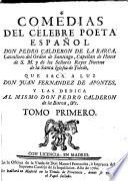 Comedias del celebre poeta español, don Pedro Calderon de la Barca ...