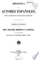Comedias escogidas de Don Agustín Moreto y Cabaña