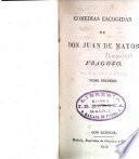 Comedias escogidas de Don Juan de Matos Fragoso