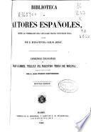 Comedias escogidas de fray Gabriel Tellez (el maestro Tirso de Molina)