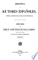 Comedias escogidas de frey Lopes Félix de Vega Carpio