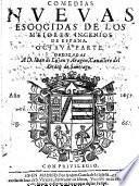 Comedias Escogidas De Los Meiores De España