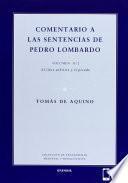 Comentario a las sentencias de Pedro Lombardo II/2