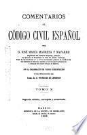 Comentarios al Código civil español